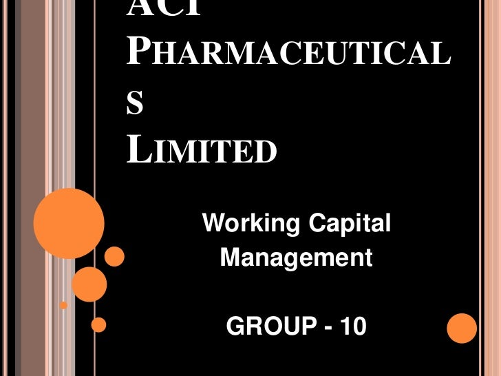 aci pharmaceuticals Aci limited (aci) (aci limited) - pharmaceuticals & chemicals - dhaka stock  exchange set alert add to watch list stock corporate actions financial.