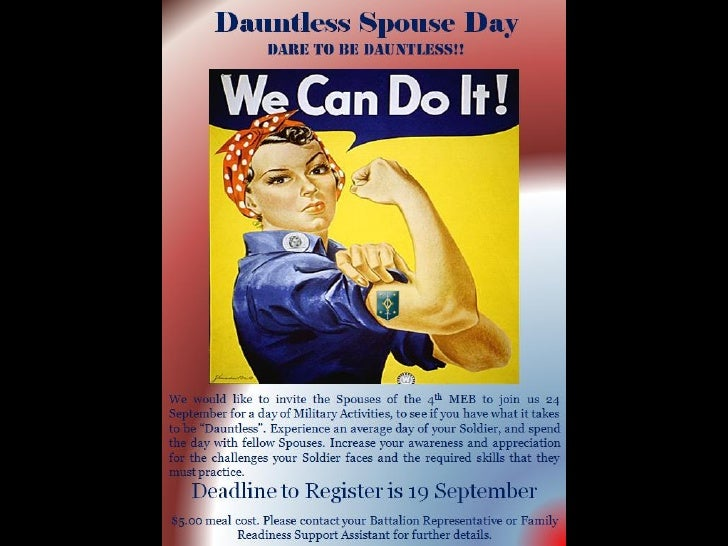 Dauntless Spouse Day