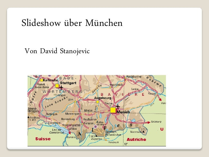Slideshow über München Von David Stanojevic