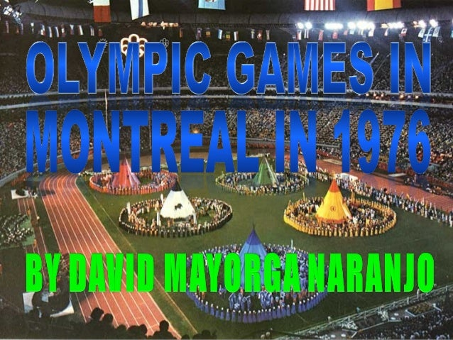 Olympic Games of Montreal in 1076