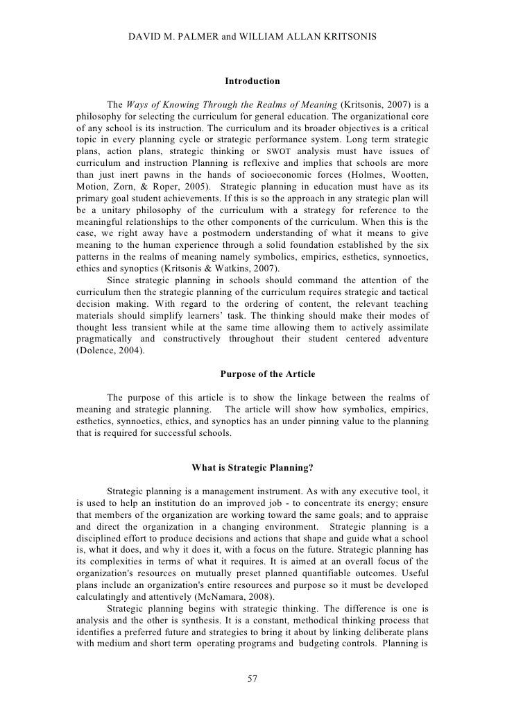 David  M. Palmer & Dr. Wm. A. Kritsonis
