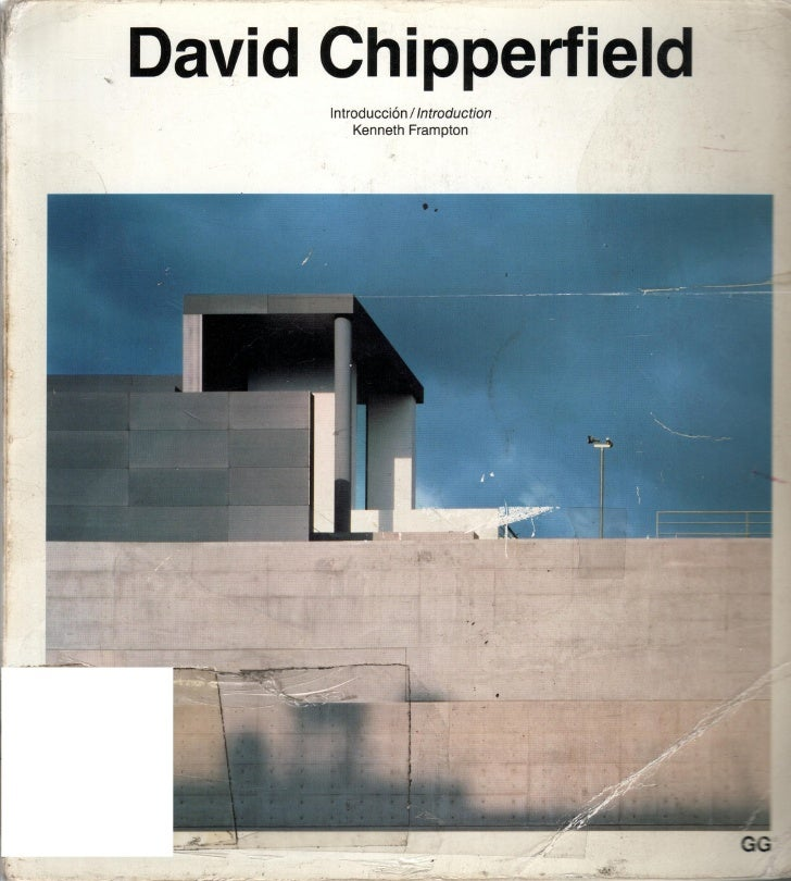 David.chipperfield catalogos.de.arquitectura