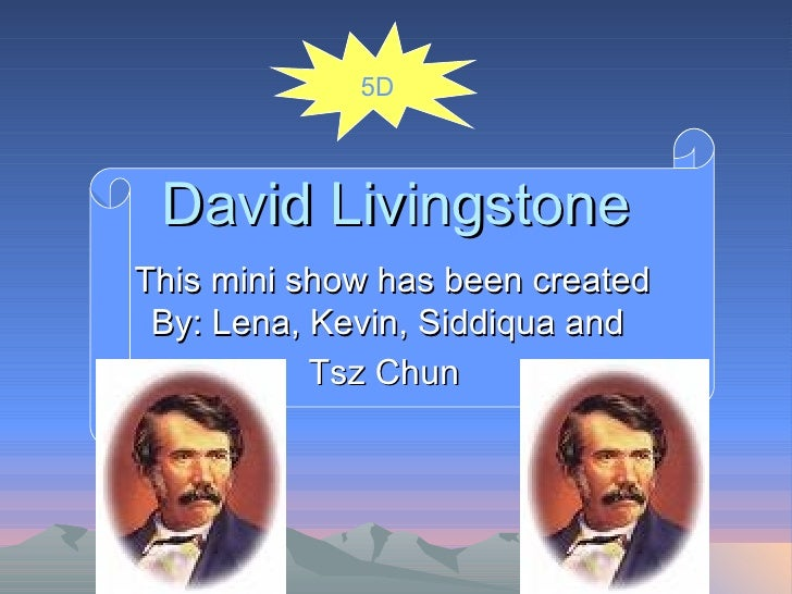 David Livingstone 2