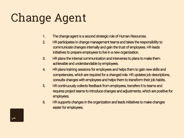 change agent key competencies An application of adkar change model for the change management competencies of school heads in pakistan  heads as a change agent playing several leadership and.