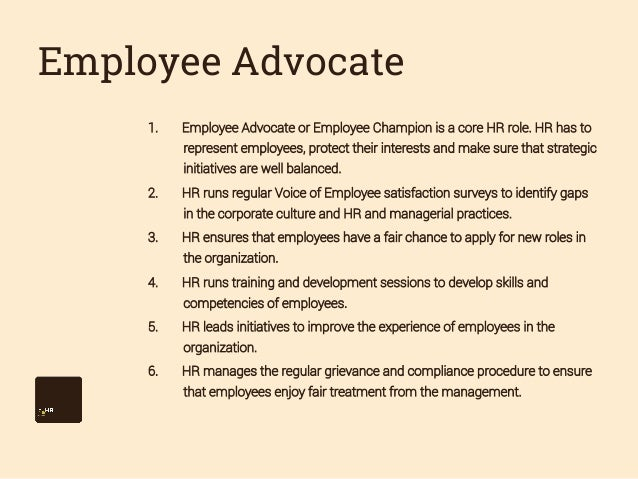 does hr have a role in I've worked in human resources for over 25 years why hr really does add value brian hults december 21, 2011 save share comment we have gained consensus among our senior leaders that the primary role of hr is to build organizational capability to support the execution of business.