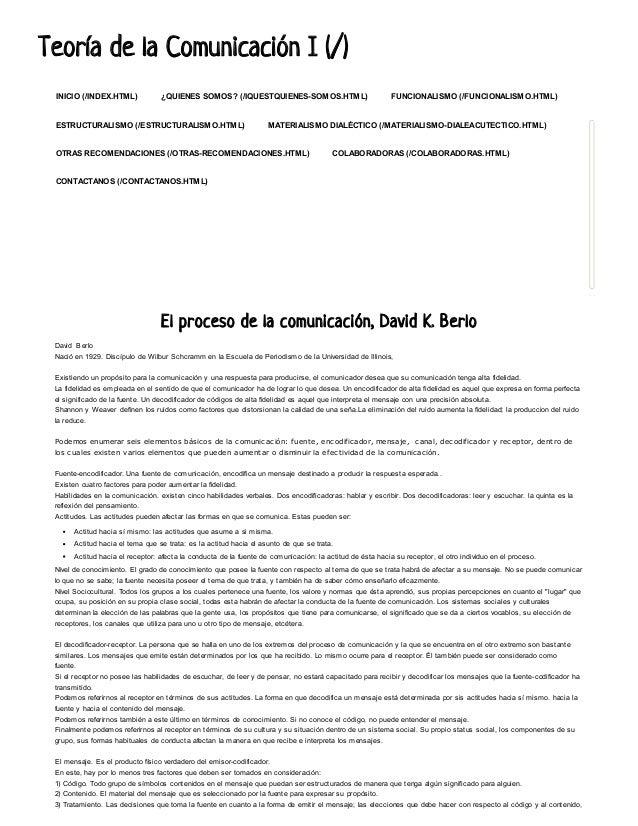 Teoría de llaa CCoommuunniiccaacciióónn II ((//))  INICIO (/INDEX.HTML) ¿QUIENES SOMOS? (/IQUESTQUIENES-SOMOS.HTML) FUNCIO...