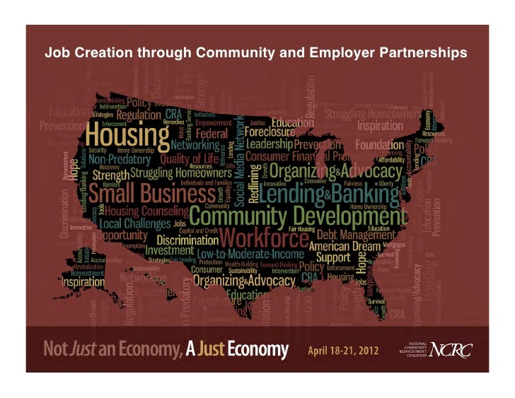 Job Creation through Community and Employer Partnerships!