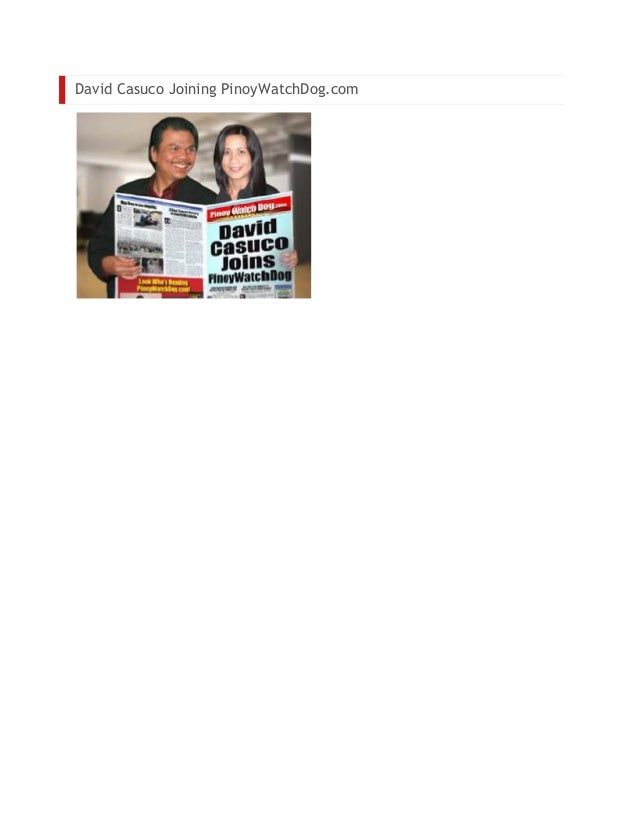 Attorney Paul Mendoza Allen Glendale Attorney Beirne Balita.com David casuco joining pinoy watchdog