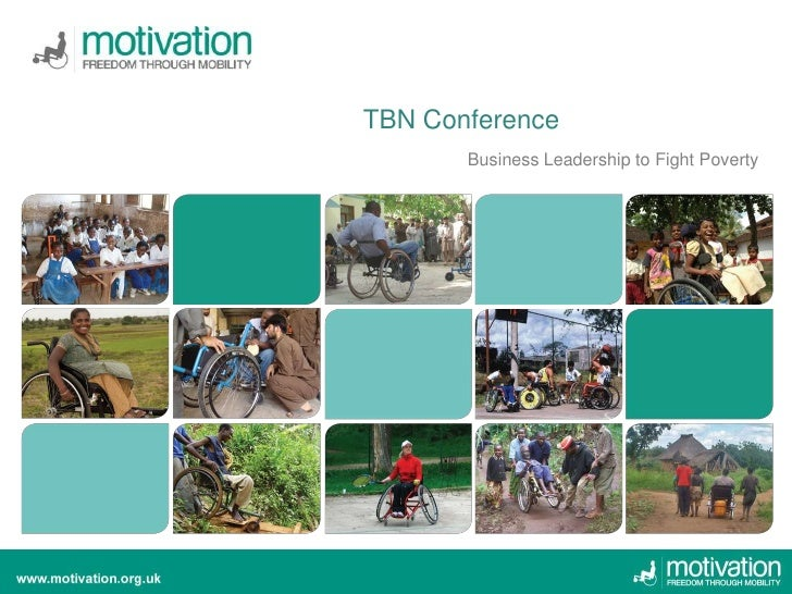 TBN Conference       Business Leadership to Fight Poverty