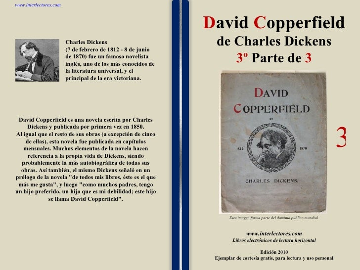David Copperfield De Charles Dickens 3