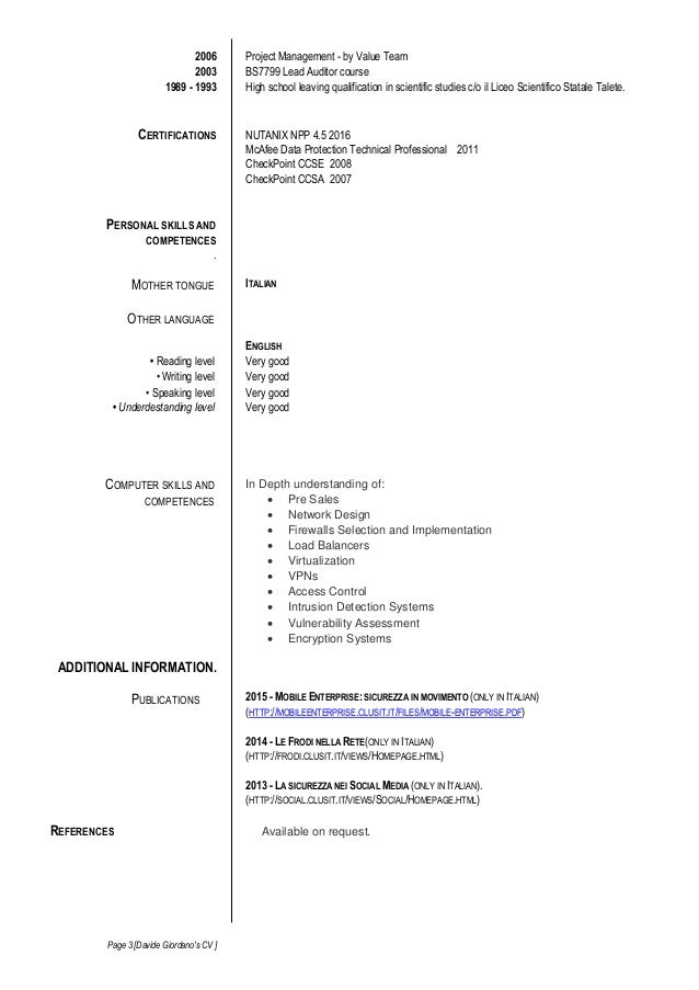 IT Security Analyst Sample Resume   Executive resume writer     TrendResume   Resume Styles and Resume Templates