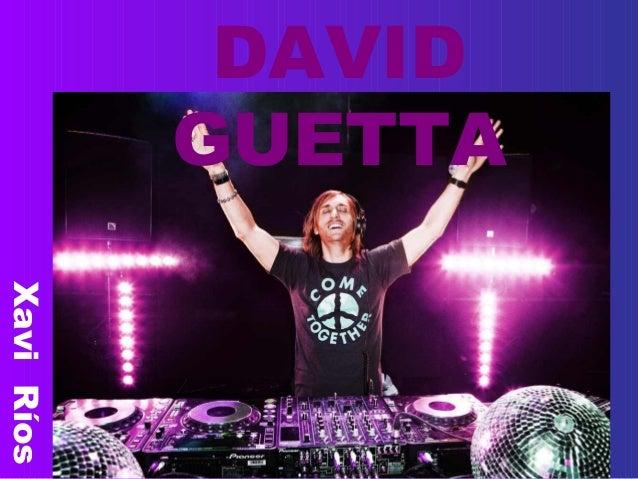 DAVID GUETTA XaviRíos