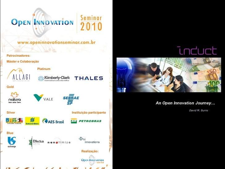 Apresentação David Burns - Induct   OIS2010    Processos para gestão da inovação
