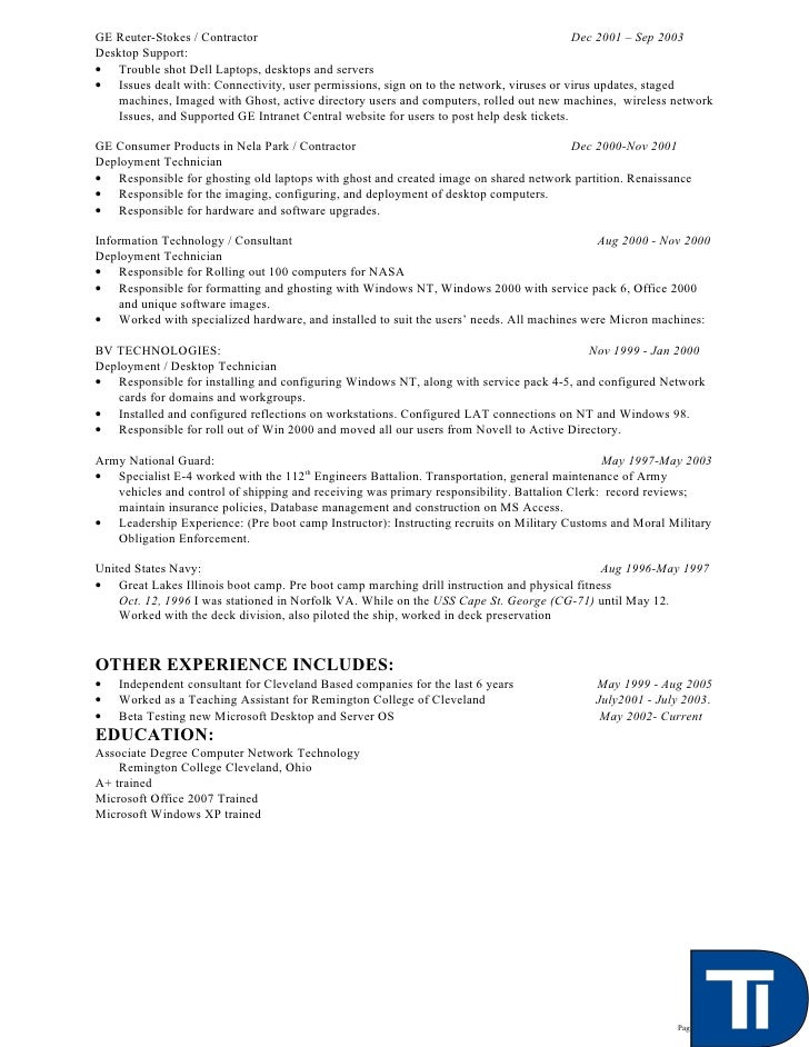 cover letter help desk technician. Resume Example. Resume CV Cover Letter