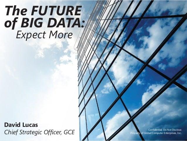 David lucas big data presentation