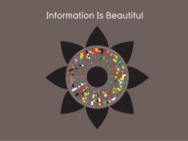David McCandless: Vakker informasjon (Webdagene 2013)