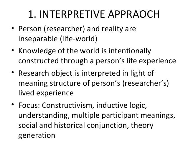 justification of research methodology