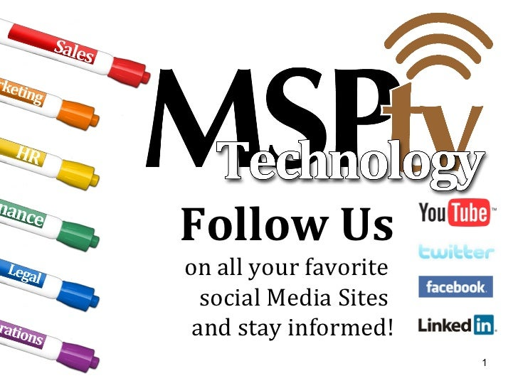 Follow Us on all your favorite  social Media Sites  and stay informed!