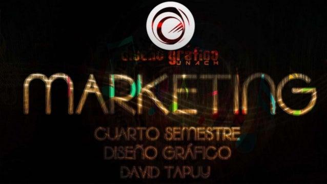MARKETING  Cuarto Semestre David Tapuy  Análisis de la cartera producto-mercado (Análisis Portfolio o BCG)