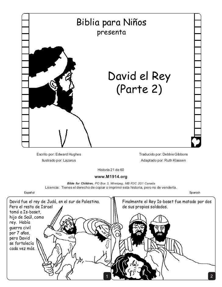 David the king part 2 spanish cb6