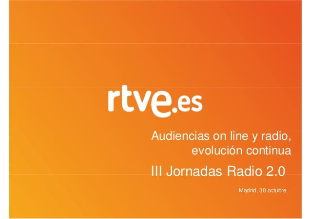 David Varona RNE RTVE.ES @ Radio 2.0 Madrid 2012