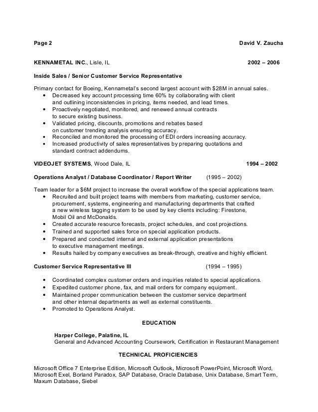 boeing resume format resume format