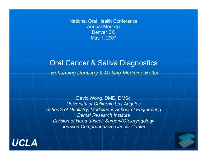 National Oral Health Conference                          Annual Meeting                            Denver CO              ...