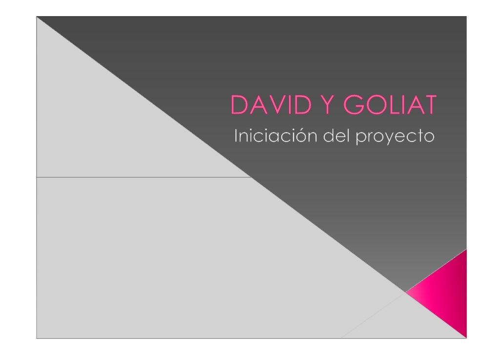David era el director de proyecto de Alfa, con el cual estaba teniendo muchos problemas. Poco después llega la noticia de ...