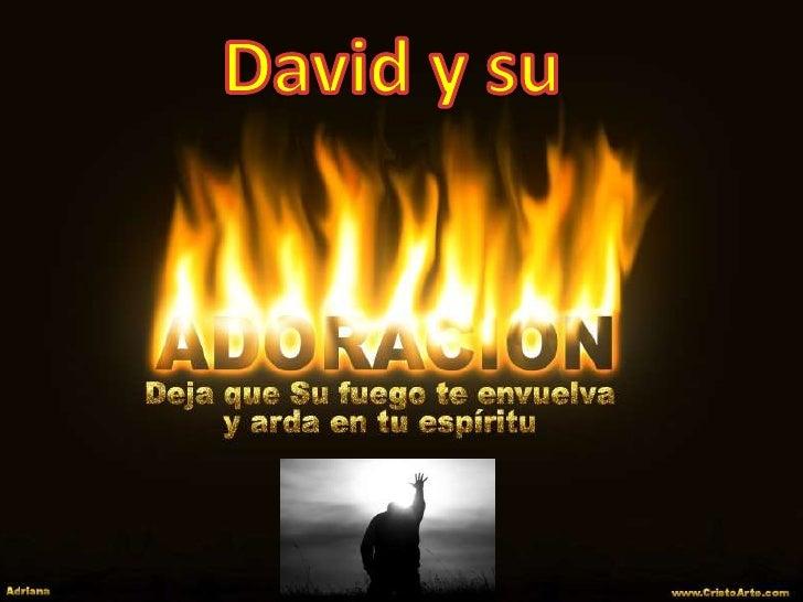 David y su<br />