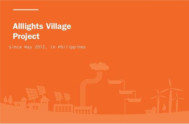 [Mr. Yoo] Alllights Village Project