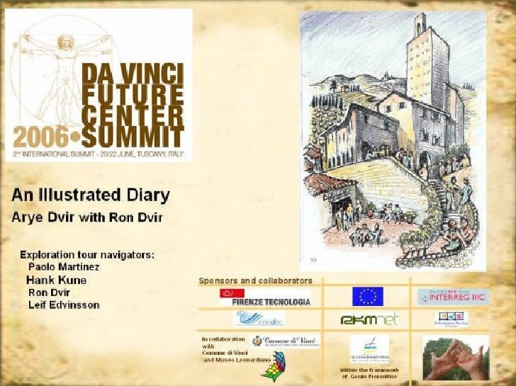 Leonardo da Vinci Exploration Tour and Future Center Summit