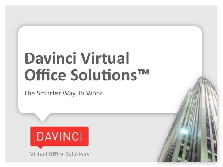 Davinci Virtual Office Solutions Overview