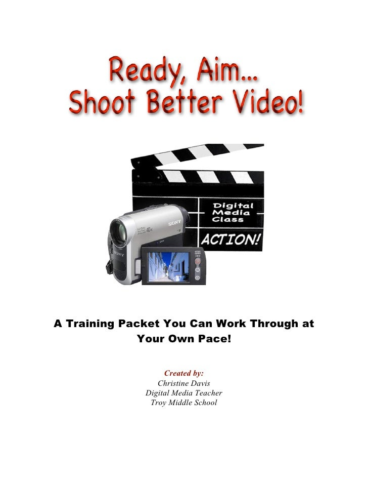 A Training Packet You Can Work Through at               Your Own Pace!                      Created by:                  C...