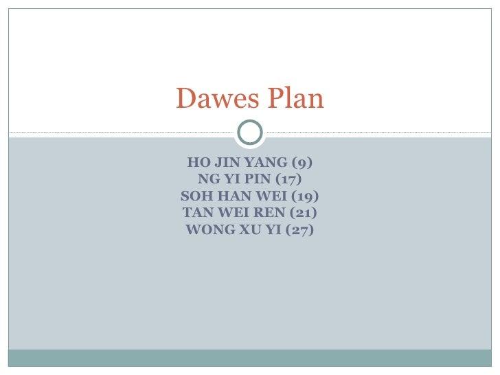 Dawes Plan Presentation