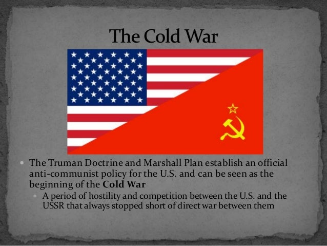 Beginning Cold War Beginning of The Cold War