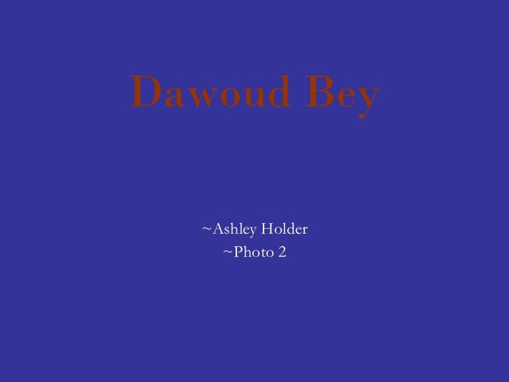 Dawoud Bey ~Ashley Holder ~Photo 2