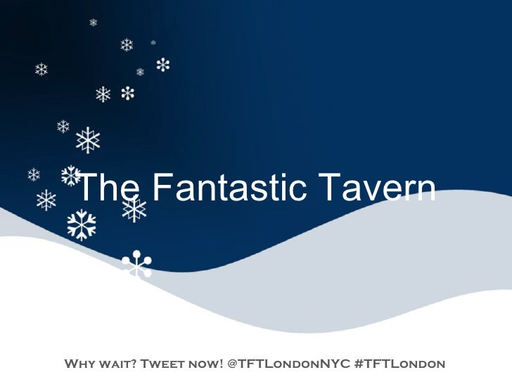 The Fantastic Tavern Review of 2010