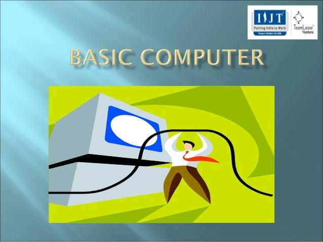 Day 1 basic computer