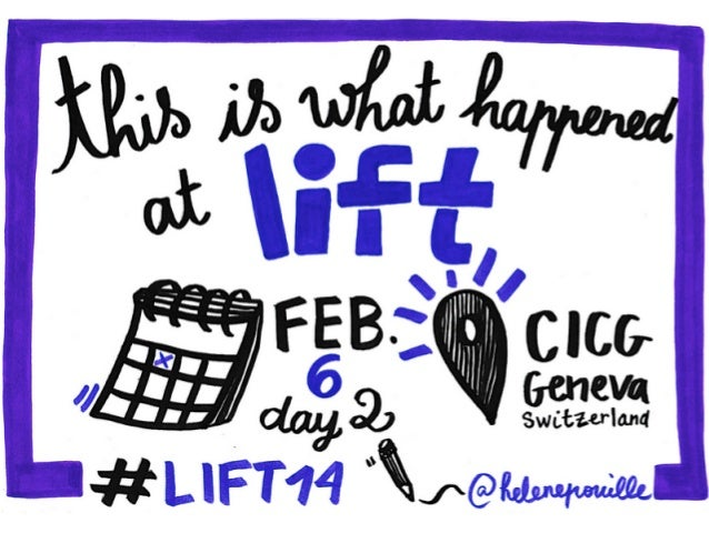 DAY 2 - What happened at Lift Conference 2014