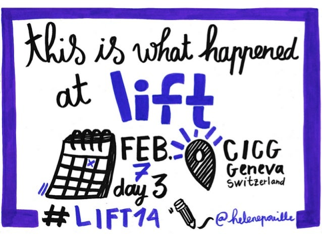 DAY 3 - What happened at Lift Conference 2014