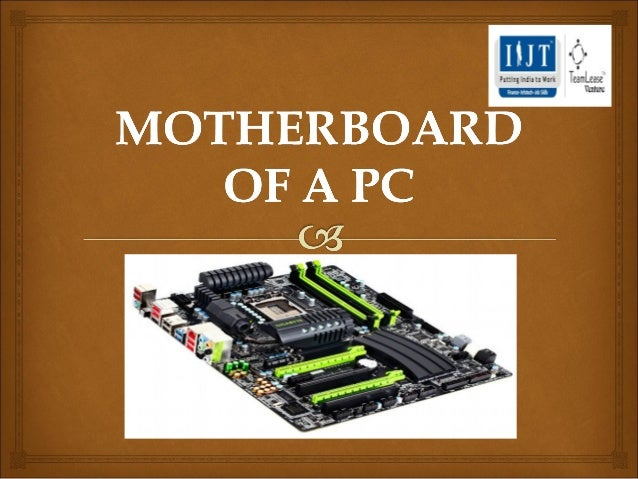 Day 3 motherboard of a pc