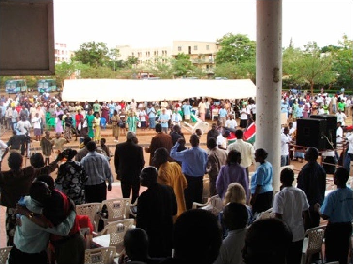 Day 8 Msafara - Kisumu Prayer Service