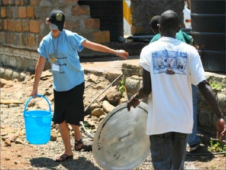 Day 8 Msafara - Kisumu Working with IDPs