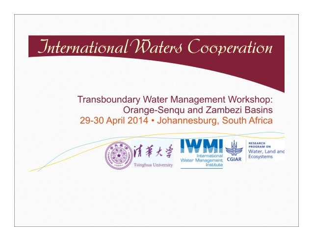 Transboundary water management workshop
