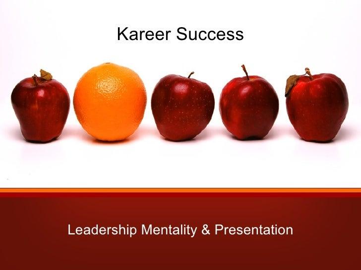 Day 1 of Kareer Success