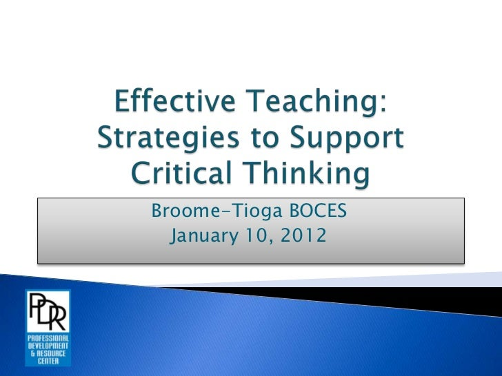 Effective Teaching Year 2- Day 1