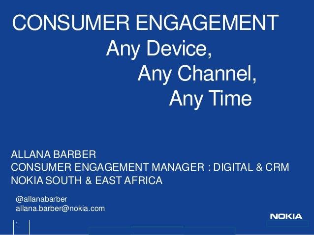 ICEW 2013 Allana Barber - Mobile brand community building strategies
