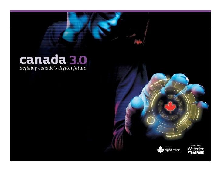 Canada 3.0 Keynote Address Day 1