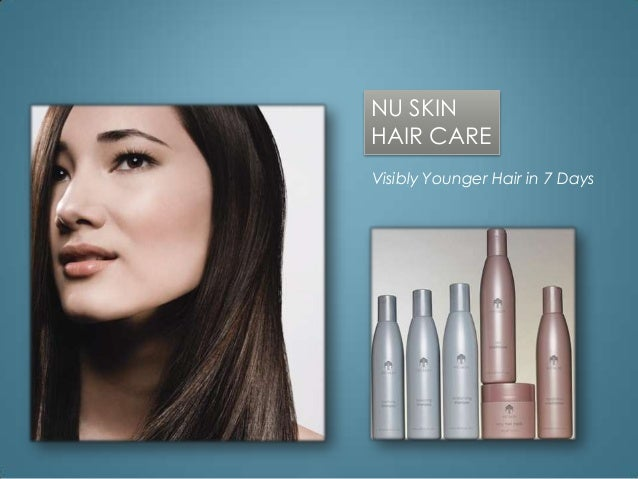 NU SKINHAIR CAREVisibly Younger Hair in 7 Days