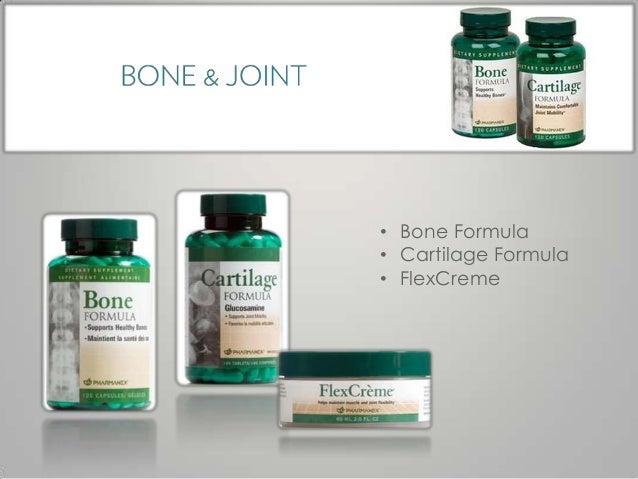 • Bone Formula• Cartilage Formula• FlexCreme